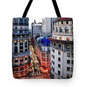 Buenos Aires Street I Tote Bag