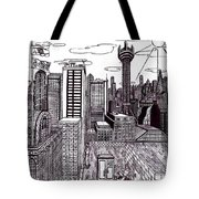 Buenos Aires Year 2065 Tote Bag