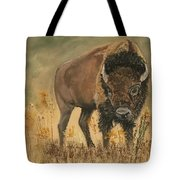 Buff Buffalo  Tote Bag