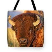 Buff In The Badlands Tote Bag