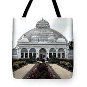 Buffalo And Erie County Botanical Gardens Ink Sketch Effect Tote Bag