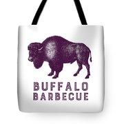 Buffalo Barbecue Tote Bag