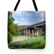 Buffalo Bayou Houston Tote Bag
