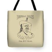 Buffalo Bill's Wild West - American History Tote Bag
