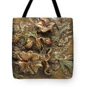 Buffalo Burr Flower Tote Bag