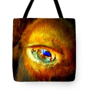 Buffalo Eye Tote Bag