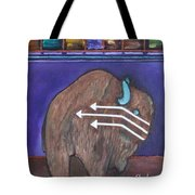 Buffalo Fetish Tote Bag