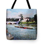 Buffalo  Fishing Day Tote Bag