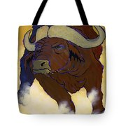 Buffalo Fury Tote Bag