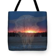 Buffalo Ghosts Tote Bag