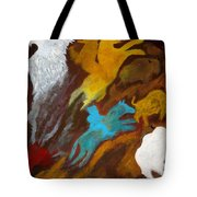 Buffalo Hunt  -021 Tote Bag