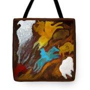Buffalo Hunt  -021 Tote Bag