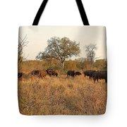 Buffalo In The Timbavati Tote Bag
