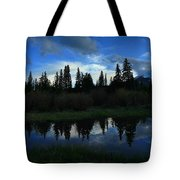 Buffalo Mountain At Sunset Tote Bag