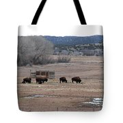 Buffalo New Mexico Tote Bag