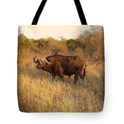 Buffalo On Safari Tote Bag