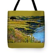 Buffalo River Bank Tote Bag