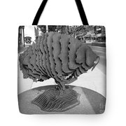 Buffalo Sculpture Grand Junction Co Tote Bag