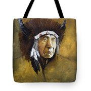 Buffalo Shaman Tote Bag