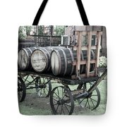 Buffalo Trace Barrel Wagon Tote Bag