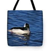 Buffle Head Tote Bag