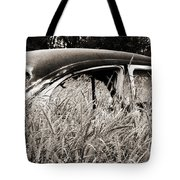 Bug In The Grass Tote Bag