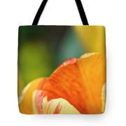 Bug View Of Tulip Tote Bag