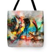 Bug Watercolor Tote Bag