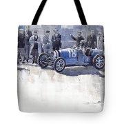 Bugatti 35c Monaco Gp 1930 Louis Chiron  Tote Bag