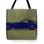 Bugatti 57 S Atlantic Tote Bag by Naxart Studio