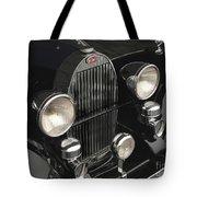 Bugatti Type 57 In Black Tote Bag
