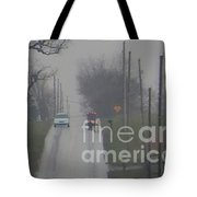 Buggy Travelling Uphill Tote Bag