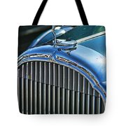 Buick Grill And Hood Ornament Tote Bag