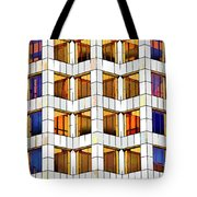 Building Abstract IIid Tote Bag