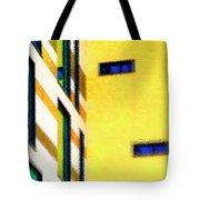Building Block - Yellow Tote Bag
