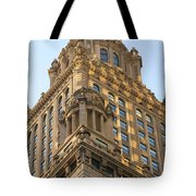 Building Chicago  Tote Bag