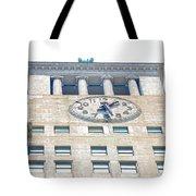 Building Closeup In Manhattan 12 Tote Bag