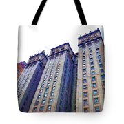 Building Closeup In Manhattan 14 Tote Bag