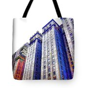 Building Closeup In Manhattan 15 Tote Bag
