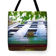 Building Closeup In Manhattan 17 Tote Bag