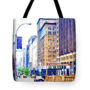 Building Closeup In Manhattan 18 Tote Bag