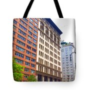 Building Closeup In Manhattan 5 Tote Bag