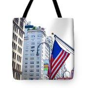 Building Closeup In Manhattan 9 Tote Bag
