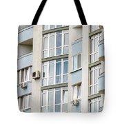 Building Facade Tote Bag