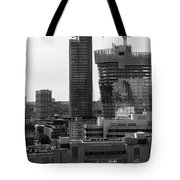 Building In Construction Tote Bag