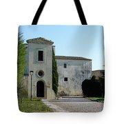 Building In Spain Tote Bag