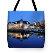 Building Of The Royal Dutch Mint In Utrecht 19 Tote Bag