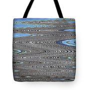 Building Stretch Abstract Tote Bag