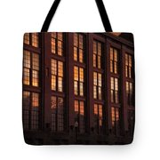 Building Sunsets Tote Bag