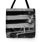 Building Tracks Tote Bag